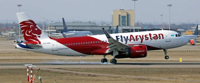 FlyArystan expands its Airbus A320 fleet 1