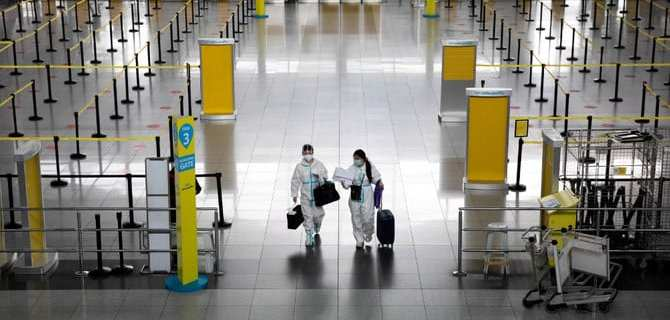 Manila limits International Airline Passenger Arrivals to 1,500 after record COVID numbers 49