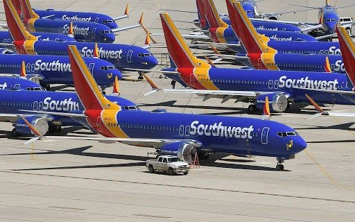 Southwest Airlines orders 100 troubled Boeing 737 MAX jets 44