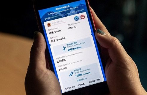 China first country in the world to launch virus passport 15