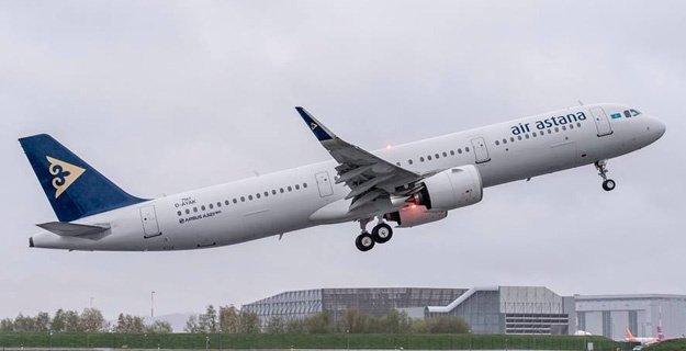 Air Astana flies to Amsterdam from Atyrau in western Kazakhstan 1