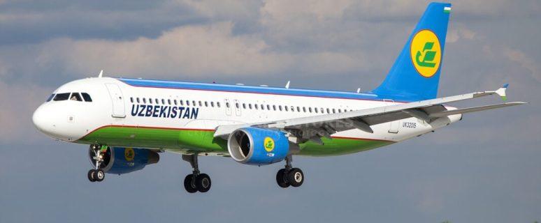 Uzbekistan Airways flies from Tashkent to Moscow Domodedovo Airport 24