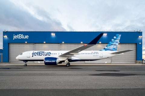 Airbus gains first North American Flight Hour Services contract with JetBlue Airways 1