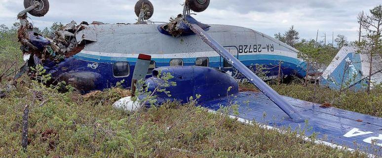 Passenger Plane Crashes in Siberia, All 19 on Board Survive the Crash 1