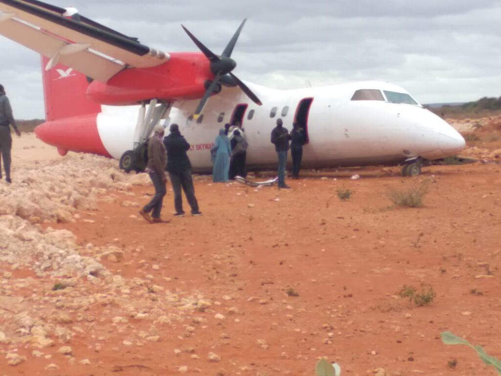 Skyward Express Passenger Plane crashed in Kenya 2
