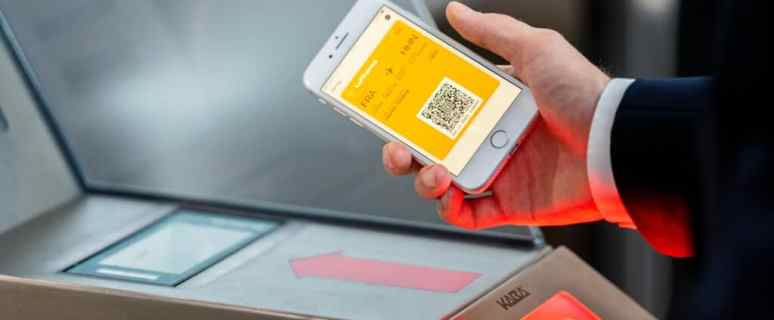 Mobile check-ins are coming back on Lufthansa flights 36
