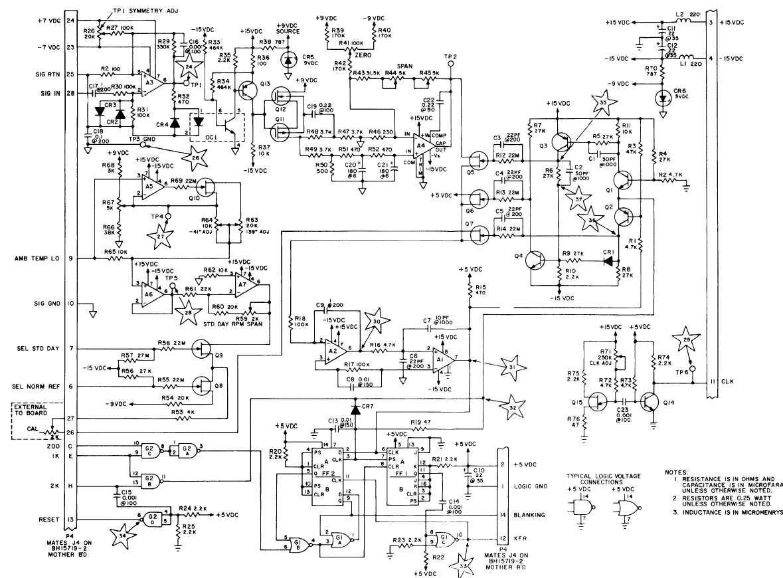 F0 5 Tachometer Board Bh 1 Schematic