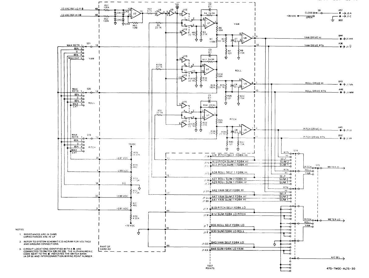 Fo 5 Extensible Link Servo Control Simplified Schematic