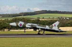 Vulcan Take off XH558