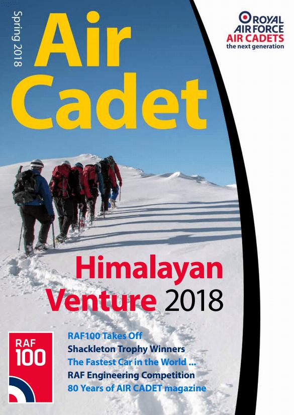 Air Cadet Magazine Spring 2018