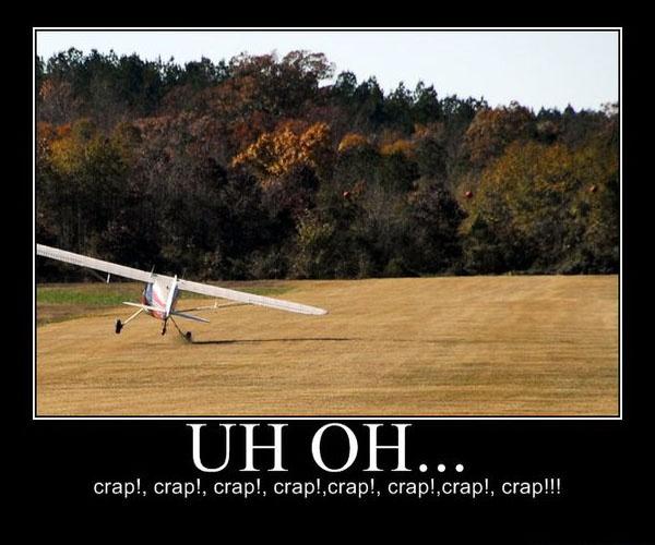 Landings are mandatory.