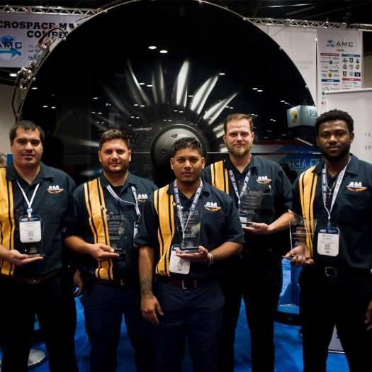 Aerospace Maintenance Competition Winners - Aviation Institute of Maintenance - Houston