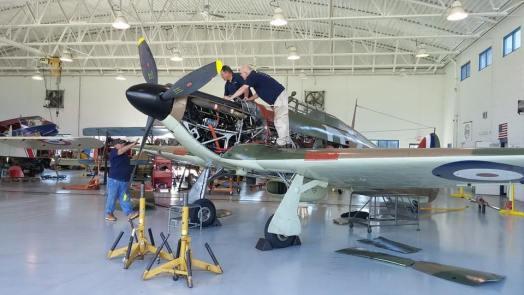Military Aviation Museum - Fighter Factory Hangar