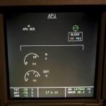 Airbus ECAM System Display - APU