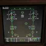 Airbus ECAM System Display - Bleed