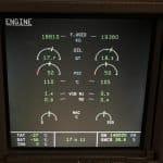 Airbus ECAM System Display - Engines