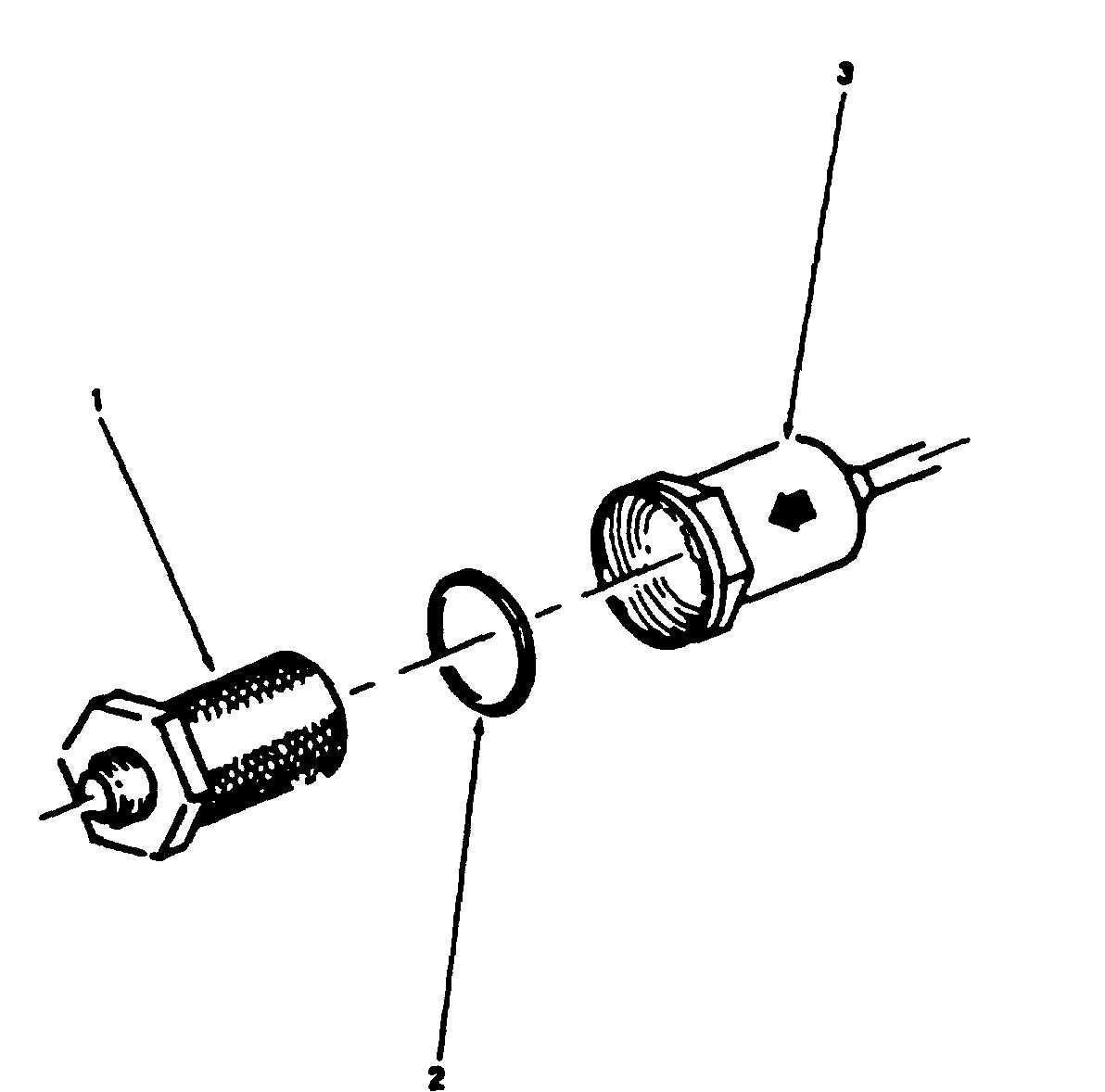 Clear Fuel Filter Cap 7 3