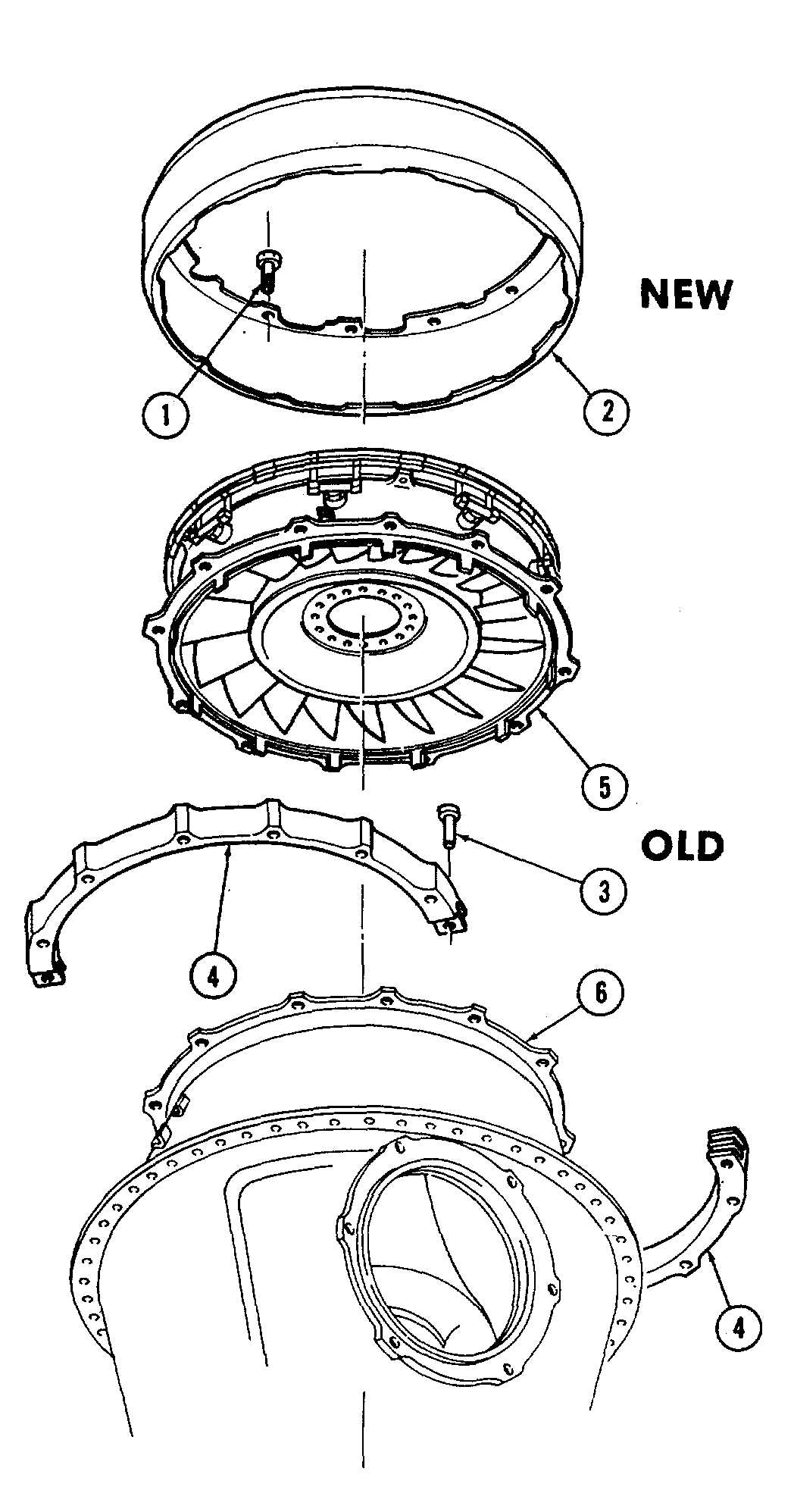 Power Turbine Stator Housing Avim