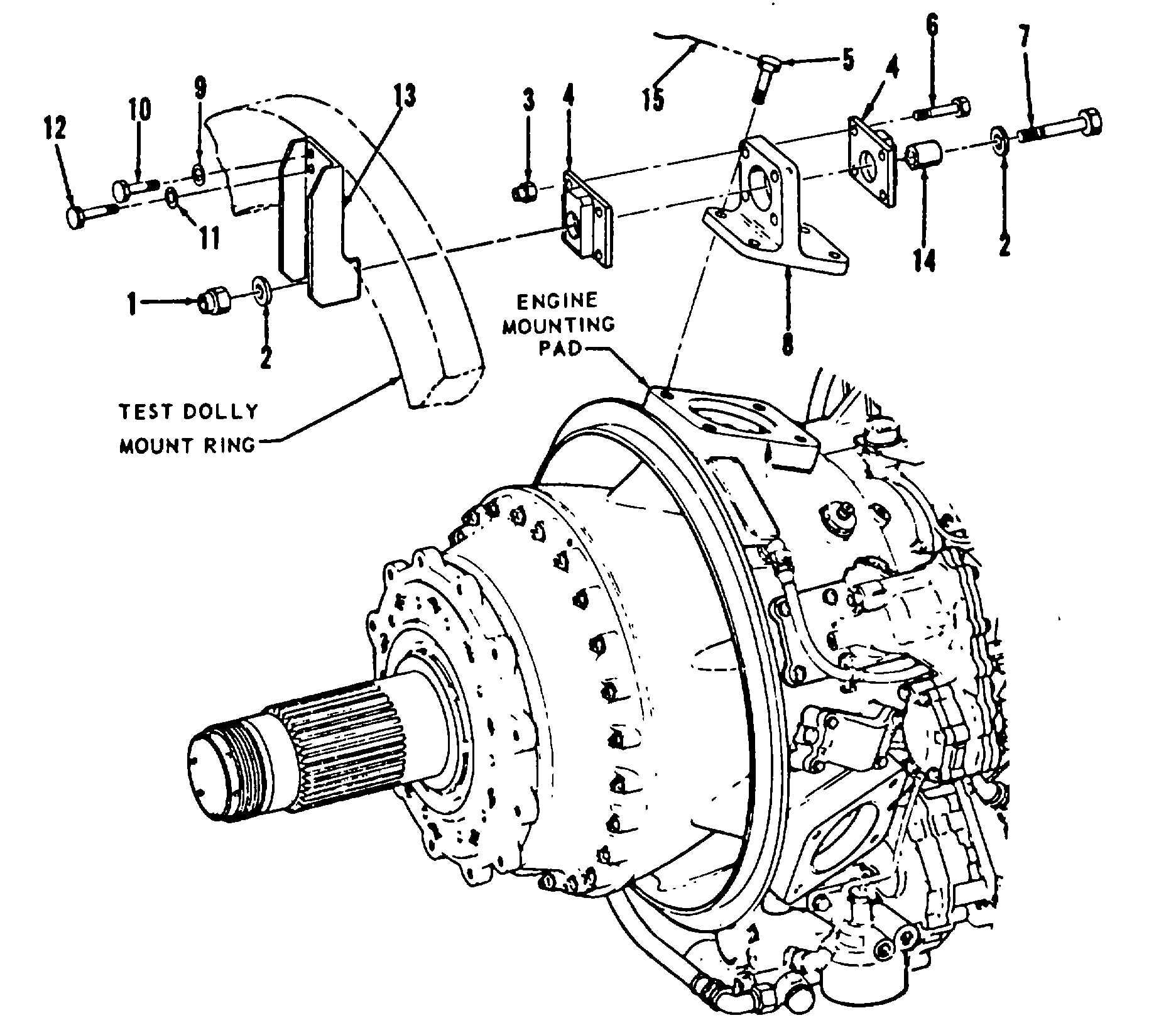 T53 Turboprop Engine