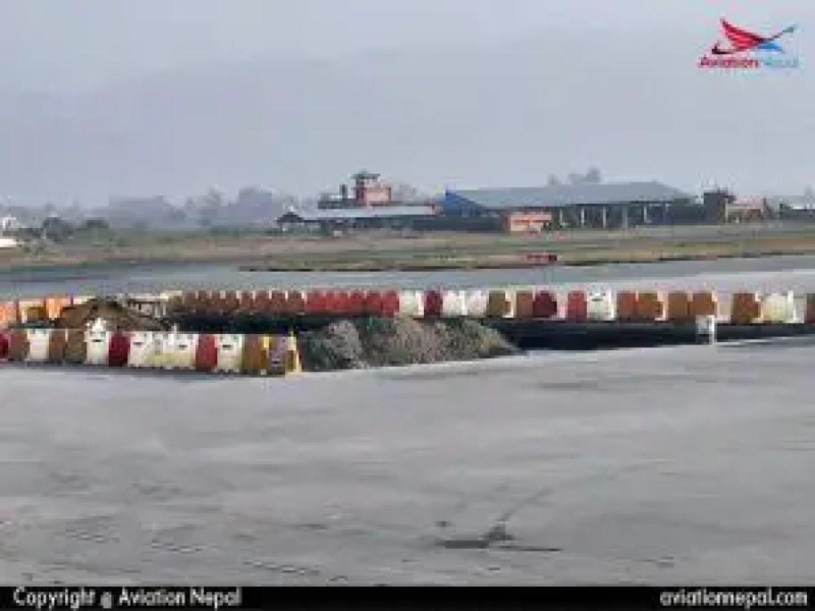 Paking By Number 04 towards International Terminal TIA, Nepal