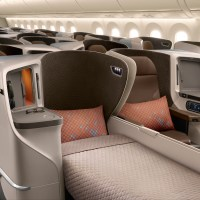 SINGAPORE AIRLINES 787-10 REGIONAL BUSINESS CLASS