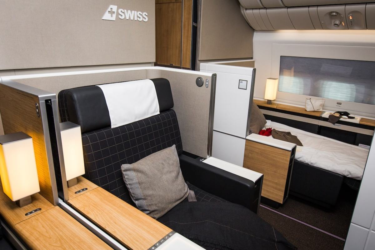 SWISS FIRST CLASS LOS ANGELES NACH ZÜRICH - REVIEW