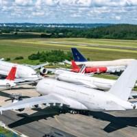 ERSTE A380 WERDEN AUSEINANDER GEBAUT