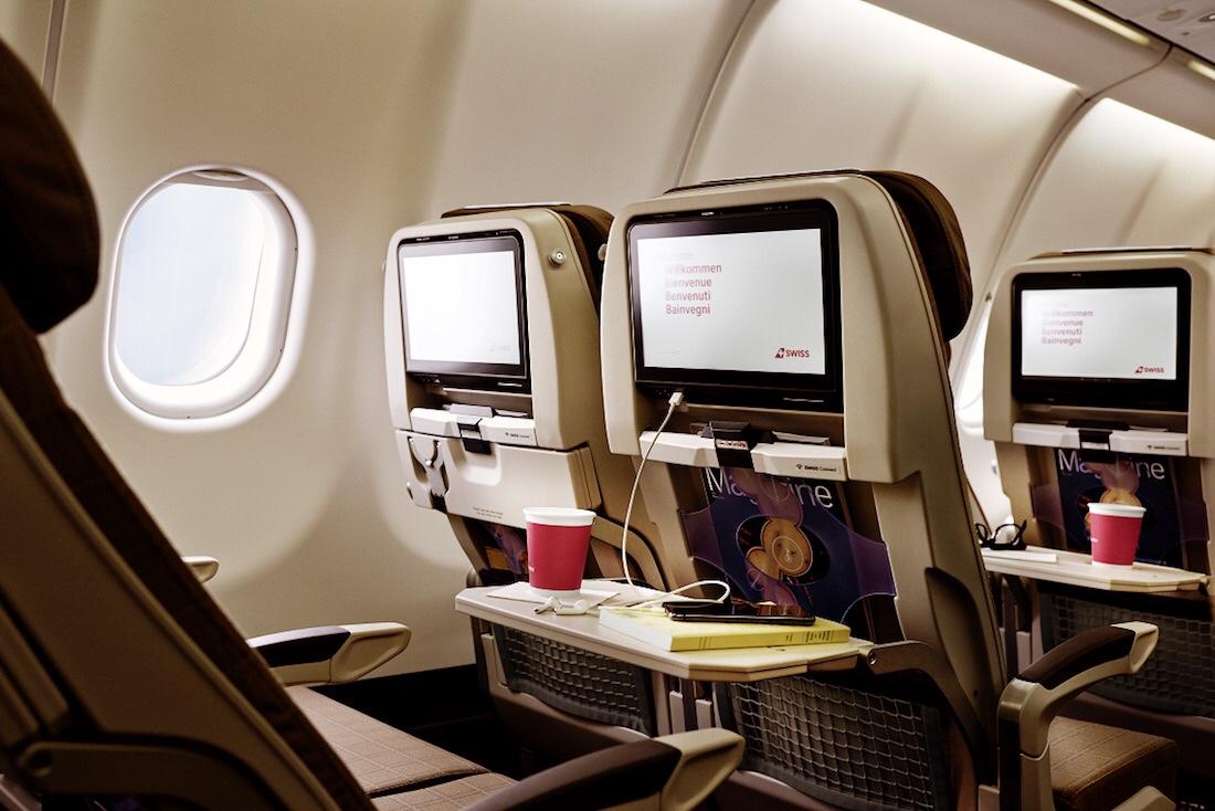 NEUE SWISS A340 KABINE