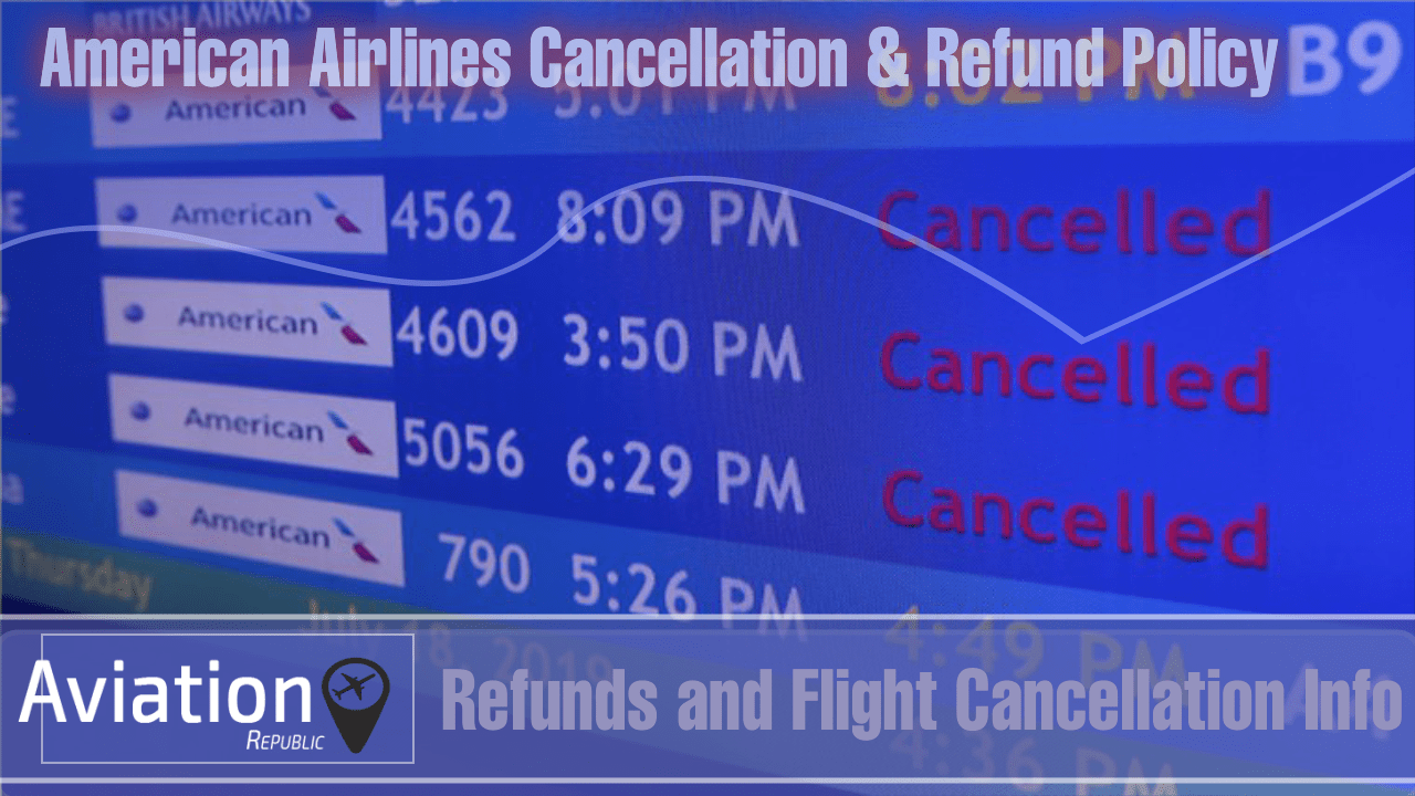 How To Cancel an American Airlines (AA) Flight Booking