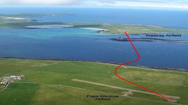 World's Shortest Commercial Flights: Westray-Papa Westray ...