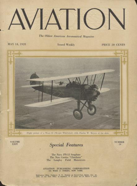 Aviation Week | May 14 1928