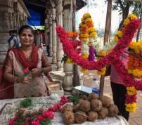 Mumbai flower seller