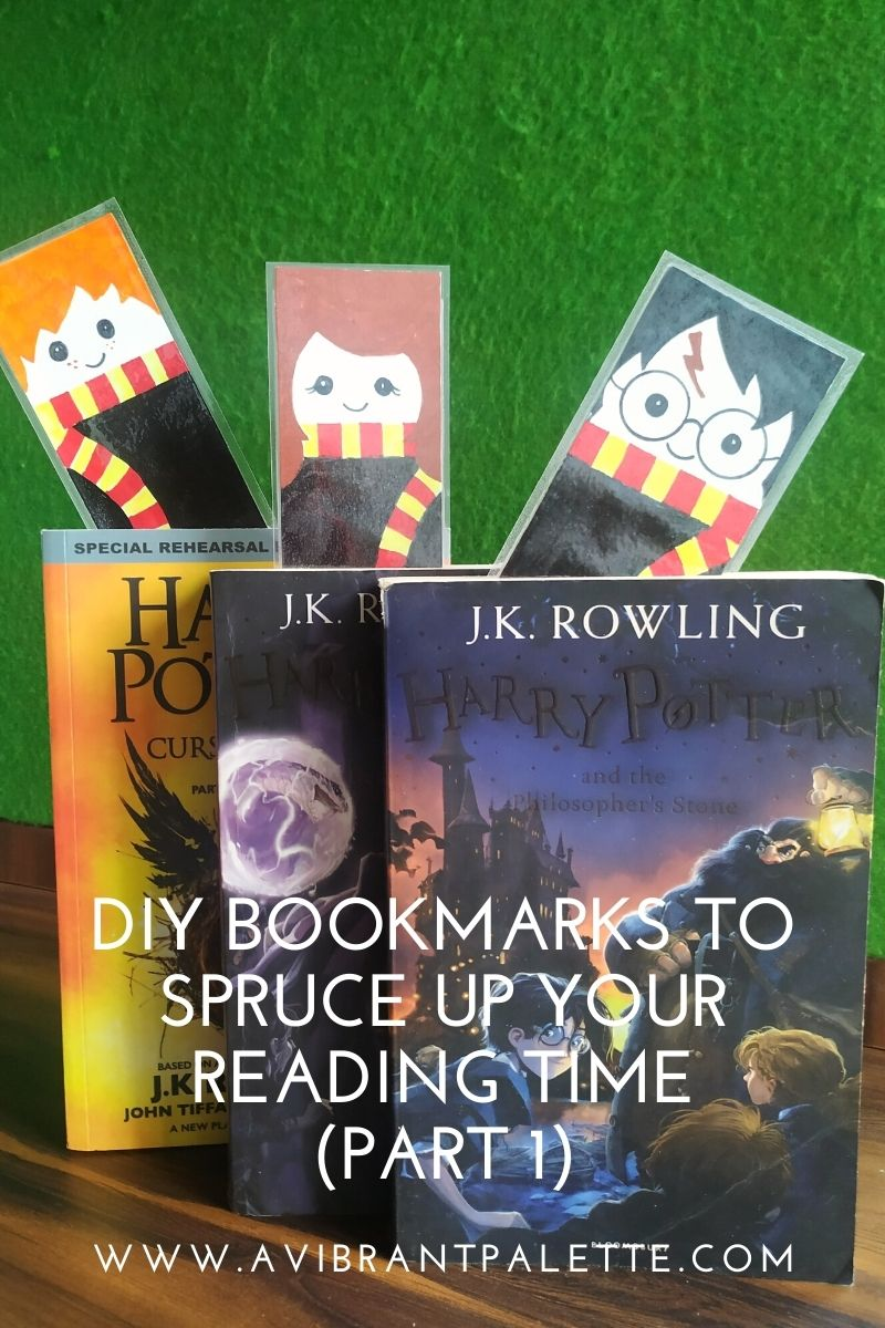 DIY bookmarks to spruce up your reading time!_avibrantpalette