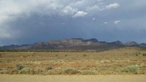 Flinders Ranges storm