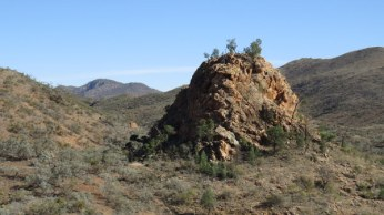 View of Pinnacles