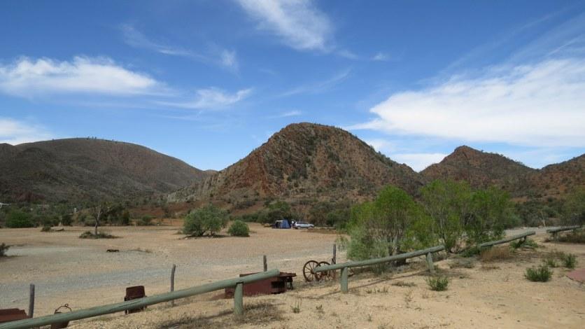 Camping facilities at Arkaroola Resort