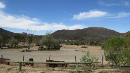 Camping facilities at Arkaroola Resort