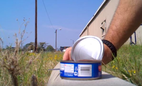 Open Can without a Can Opener