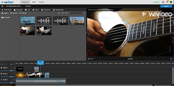 WeVideo screenshot