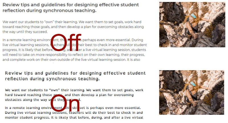 sample demonstrating how to use Open Dyslexic Font extension for Chrome
