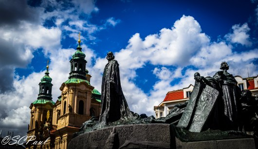 The Statue of Jan Hus
