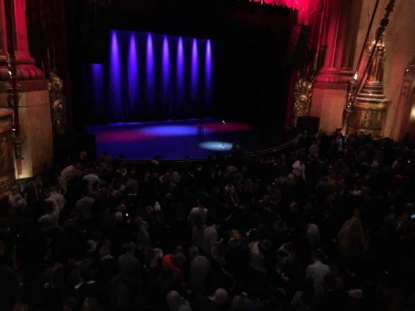 Beacon Theatre Seat Rows