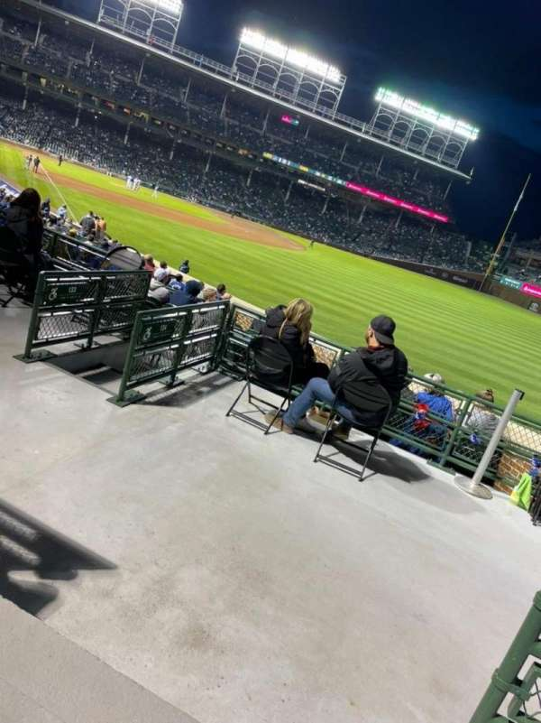 wrigley field section 233 home of