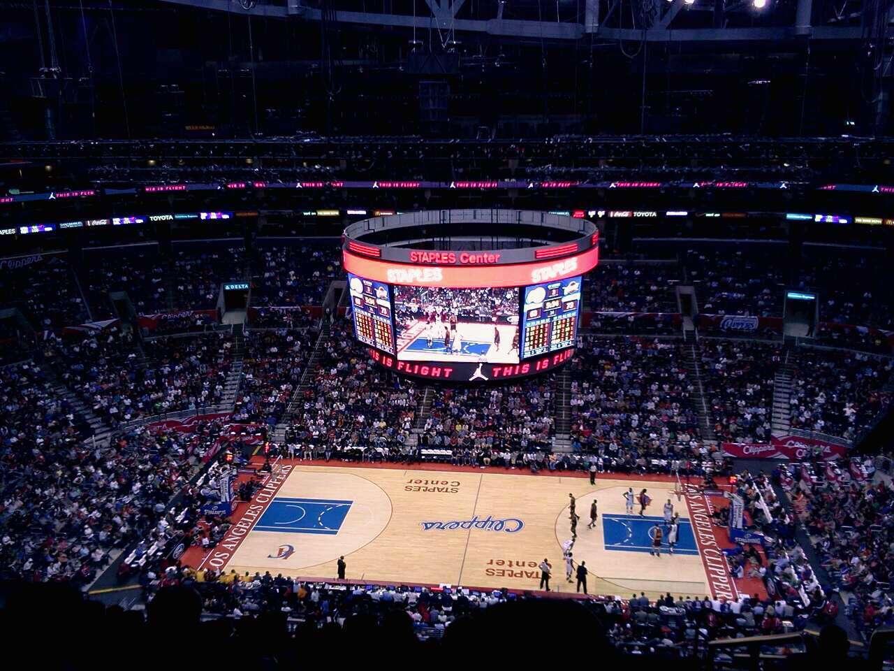 Staples Center - Section 301