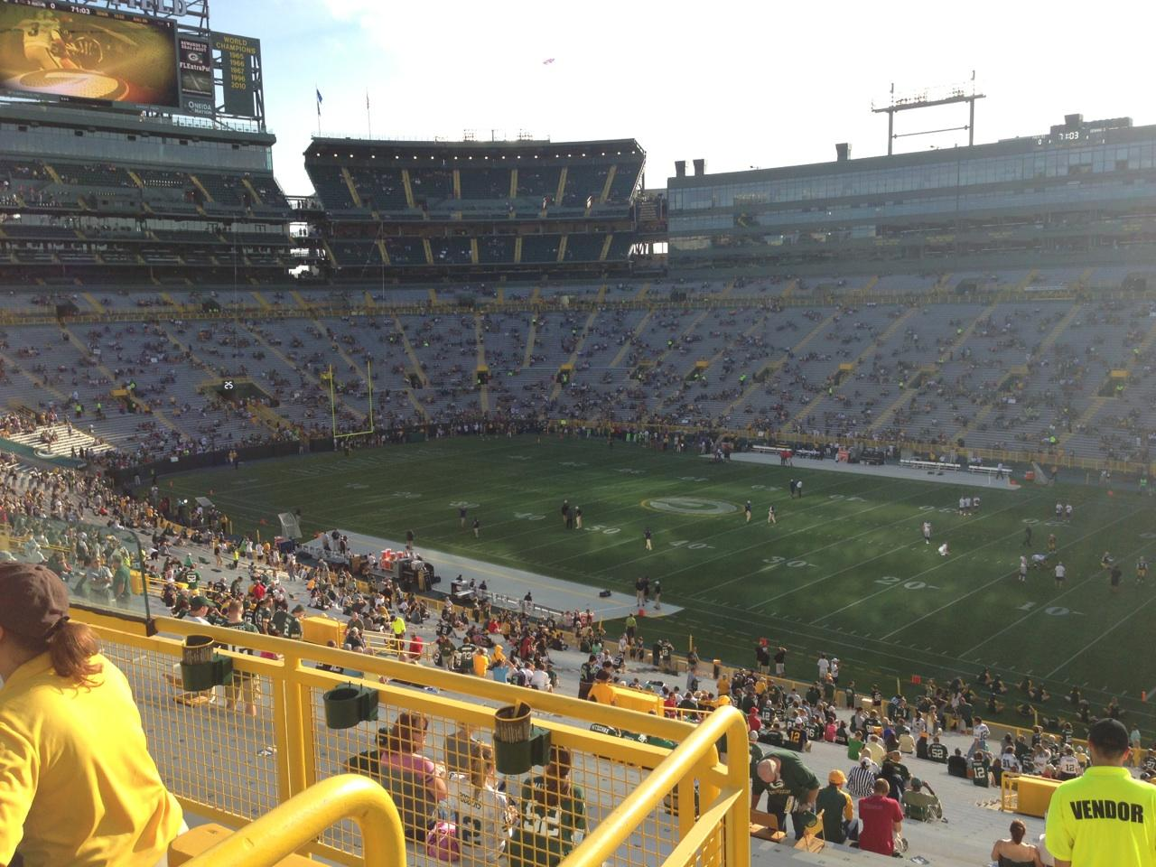 Lambeau Field Section 409