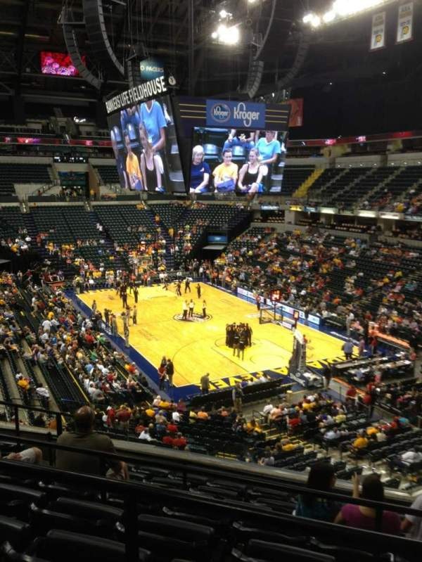 Photos of the Indiana Fever at Bankers Life Fieldhouse