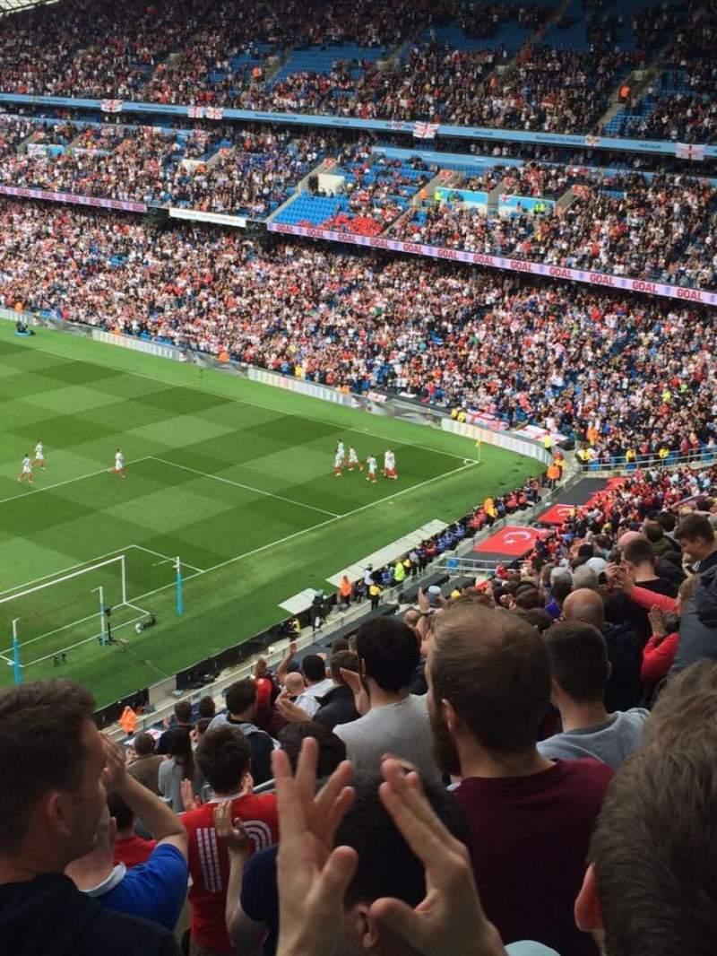 Etihad Stadium Manchester Home Of Manchester City FC