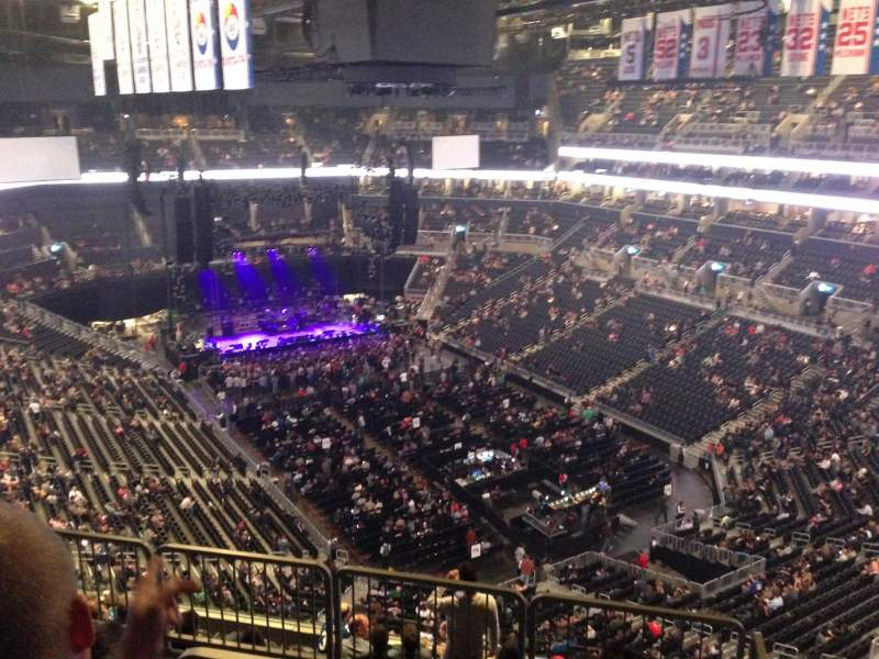 Prudential Center Section 101 Row 2 Shared Anonymously