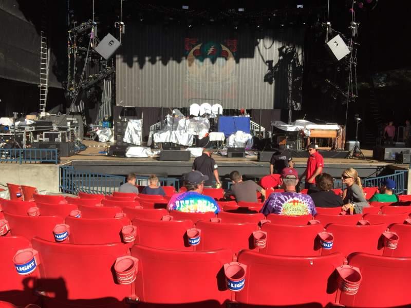 Usana Amphitheater Seating Section 102