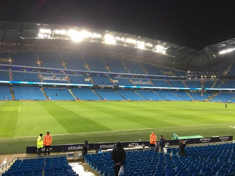 Etihad Stadium Manchester Section 131 Home Of